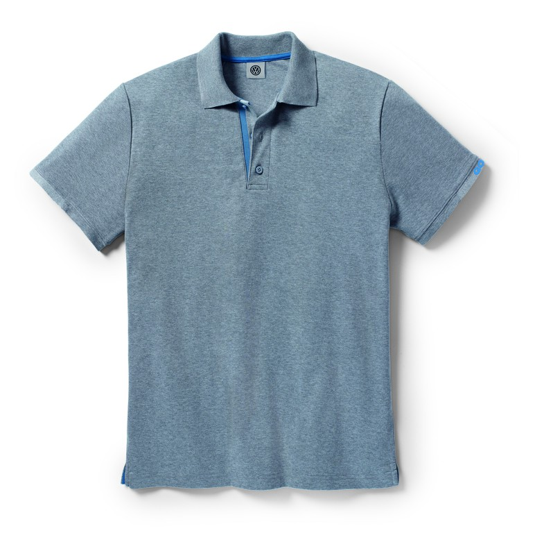 original vw golf kollektion polo shirt grau herren gr xl 5g0084230d 278 accessoires. Black Bedroom Furniture Sets. Home Design Ideas