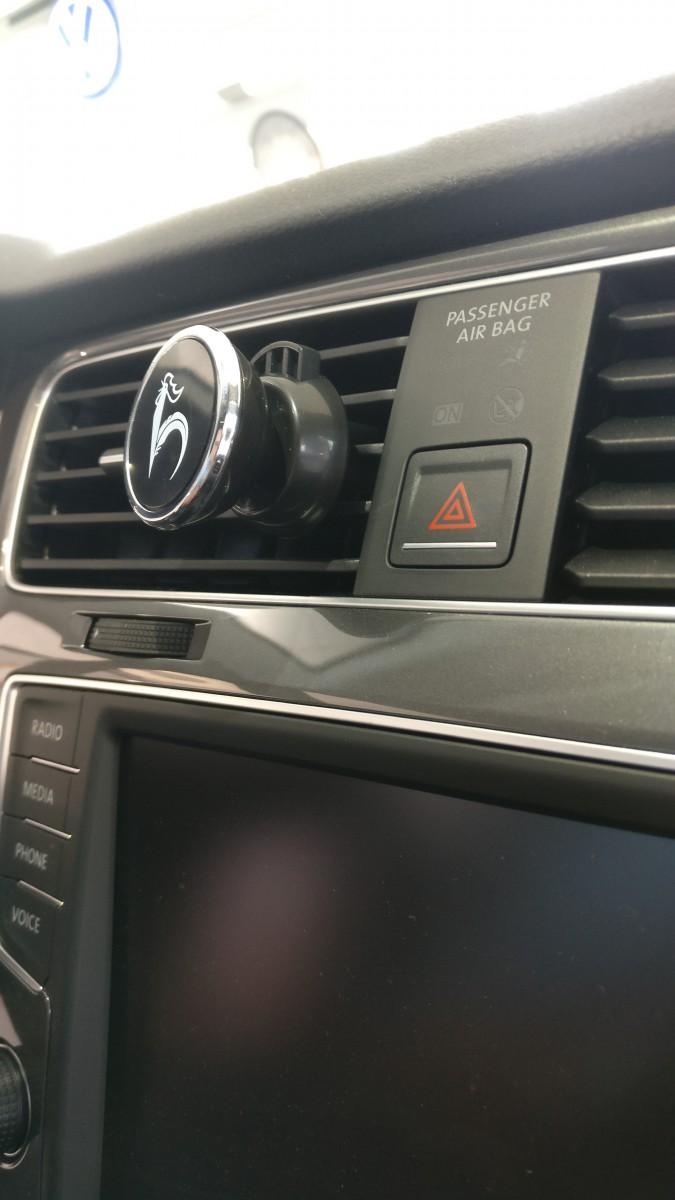 magnet handyhalterung f r l ftung auch mit h lle kompatibel hahn automobile ebay. Black Bedroom Furniture Sets. Home Design Ideas